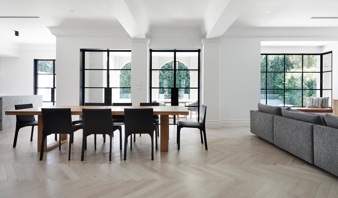 Herringbone Parquetry Flooring